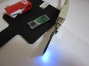 USBメモリーが認識してデータ救出成功