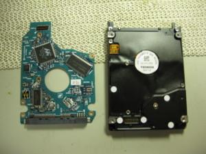 HDD基板のハンダ修理