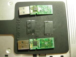 USBメモリー基板の交換