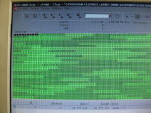 メモリーICのデータイメージをエラー補正して復旧